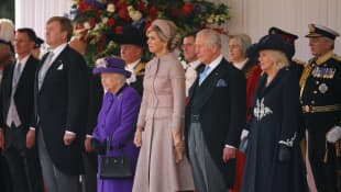 Die britischen und niederländischen Royals