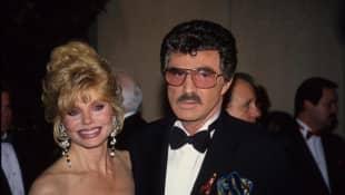 Burt Reynolds und Loni Anderson