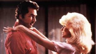 "Burt Reynolds und Loni Anderson in ""Stroker"""