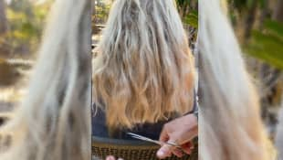 Robert Geiss schneidet seiner Carmen die Haare