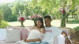 Chanel Iman und Sterling Shepard sind zum ersten Mal Eltern geworden