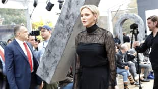 Fürstin Charlène von Monaco in Paris