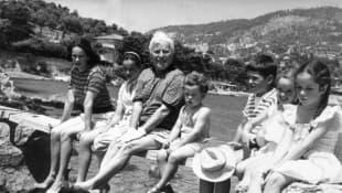 Charlie Chaplin und seine Kinder