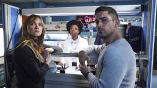 NCIS: Emily Wickersham, Diona Reasonover und Wilmer Valderrama