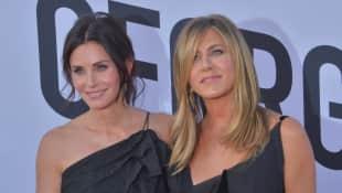 Courteney Cox und Jennifer Aniston sind immer noch beste Freunde