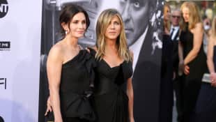 Courteney Cox und Jennifer Aniston
