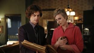 """Criminal Minds"": ""Spencer Reid"" und ""Diana Reid"""