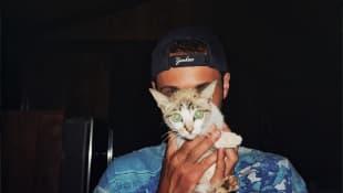 Cro mit Katze