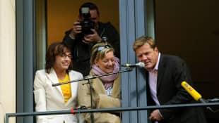 Daniel Küblböck, Juliette Schoppmann und Dieter Bohlen