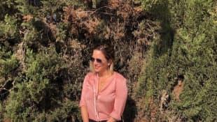 Daniela Büchner im Oktober 2019 auf Instagram auf Mallorca