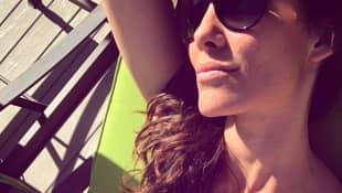 Daniela Ruah Bikini Navy CIS L.A.