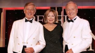 Heide Keller, Siegfried Rauch und Horst Naumann