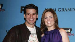 David Boreanaz und Emily Deschanel