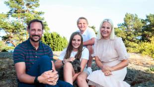 Prinz Haakon, Prinzessin Mette-Marit, Prinzessin Ingrid Alexandra, Prinz Sverre Magnus