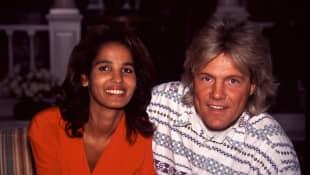 Dieter Bohlen und Naddel im Jahr 1994