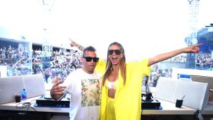 DJ Kaskade und Heidi Klum
