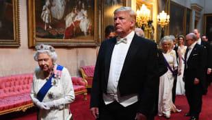 Donald Trump und die Queen