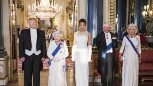 Trumps und britische Royals