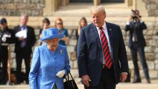 Donald Trump erzählt von seinem Treffen mit Königin Elisabeth II