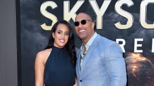 Dwayne Johnson mit Tochter