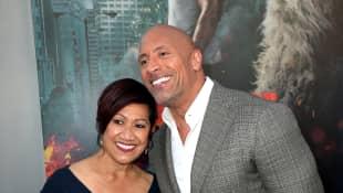 Dwayne Johnson und seine Mutter Ata Johnson