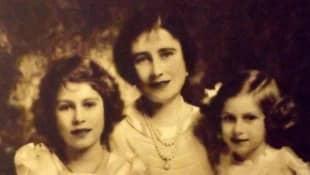 Königin Elisabeth II., Queen Mother und Prinzessin Margaret