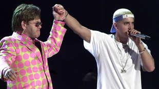 Elton John Eminem Stan Grammy Awards 2001