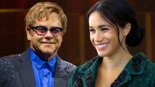 Elton John bringt Harrys & Meghans Kind Klavier bei