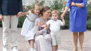 Prinzessin Estelle, Prinzessin Victoria und Prinz Oscar von Schweden