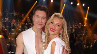 """Evgeny Vinokurov und Evelyn Burdecki bei """"Let's Dance"""" 2019 auf RTL"""