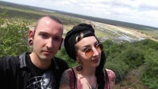 Fabian Kahl und Freundin Samira
