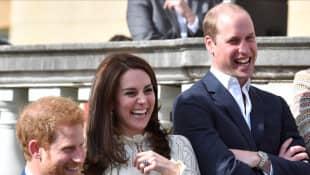 Prinz Harry, Herzogin Kate und Prinz William