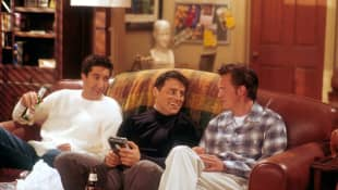 "Joey, Chandler und Ross in ""Friends"""