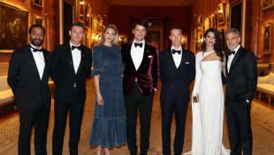 Chiwetel Ejiofor, Luke Evans, Tamsin Egerton, Josh Hartnett, Benedict Cumberbatch, Amal Clooney und George Clooney