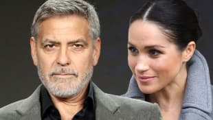 George Clooney vergleicht Meghan Markle mit Lady Diana