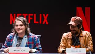 Gerard Way und Gabriel Bá
