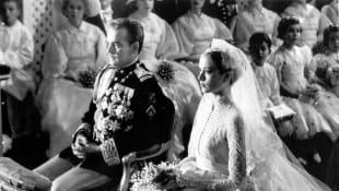Grace Kelly und Fürst Rainier von Monaco