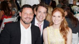 T.R. Knight, Sarah Drew und Justin Chambers
