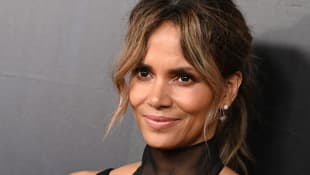 Halle Berry on the red carpet at the world premiere of John Wick: Chapter 3.