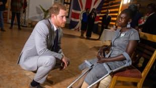 Prinz Harry in Angola