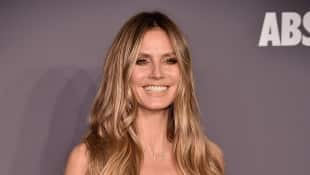 Heidi Klum auf der amfAR Gala 2019 in New York