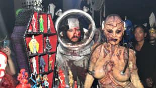 Tom Kaulitz und Heidi Klum an Halloween