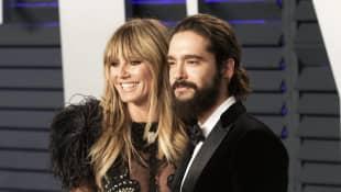Heidi Klum und Tom Kaulitz bei einer Oscar-Party