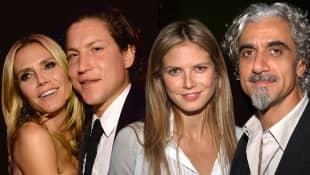 Heidi Klum, Vito Schnabel und Ric Pipino