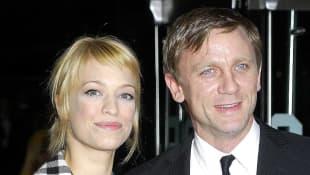 Heike Makatsch und Daniel Craig