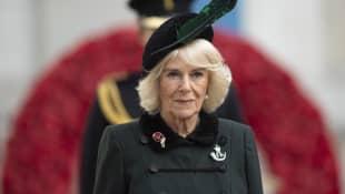 Herzogin Camille eröffnet das 92. Field of Remembrance