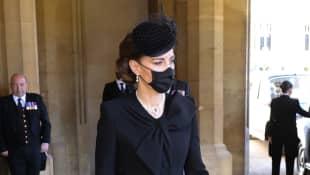 Herzogin Kate bei der Beerdigung von Prinz Philip