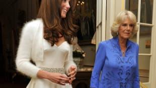 Herzogin Kate und Camilla Parker-Bowles