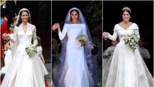 Herzogin Kate, Herzogin Meghan und Prinzessin Eugenie