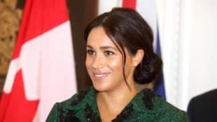 Herzogin Meghan Geburt Baby Kind schwanger